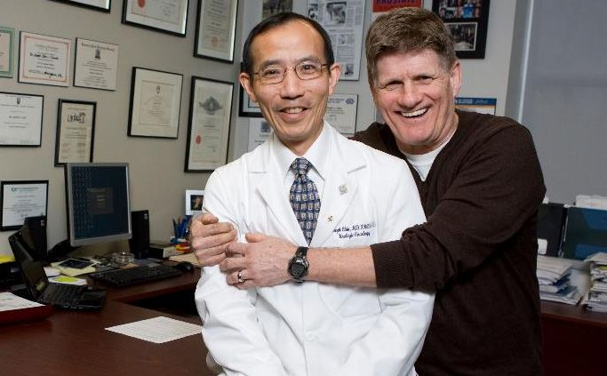 Dr. Chin and world's first TULSA-PRO ™ patient